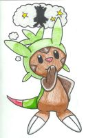 Chespin - What Am I Going To Be When I Evolve by Destiny-The-Hedgimon
