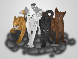 Faraday's gang by Painted-Shadow