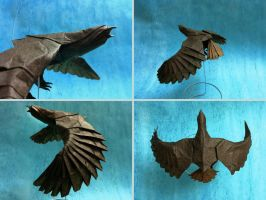Origami Eagle by haomaru87