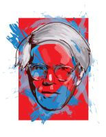 Warhol Tribute by Illustrationdan