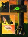 Nocturne: Prologue Page one by wolfgodess92