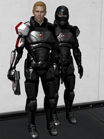 Dragon Age - Cullen (mass effect N7 mod) by Mageflower