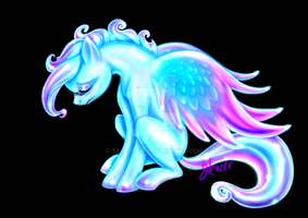 Glass Pegasus by tasertail