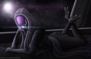 Tali'Zorah for Radavik - Redux by Mecha-Potato-Alex