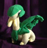 Pokemon - Tropius custom plush by Kitamon