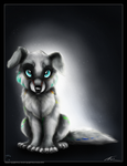 Adorable Evil Puppy by ThorinFrostclaw
