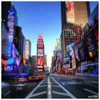 Broadway NYC by DennisChunga
