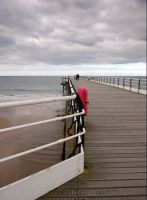 Pier at Saltburn by the sea by sicklittlemonkey