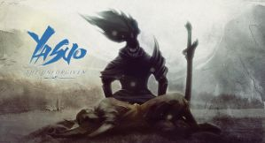 [LoL] Yasuo - The Unforgiven (Wallpaper) by PopokuPinguPop90