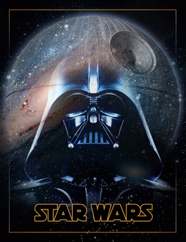 Star Wars - Darth Vader Poster...thing. by RoslynnSommers