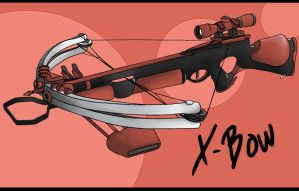 CR: Canvas X-Bow Shooter by aevalier