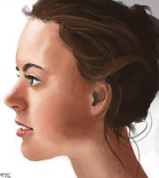 Portrait color practice by FelFortune