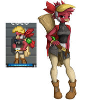 Starbound: Coco by Et-ya