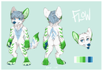 Flow Reference Sheet [Commission] by sirbarkalot