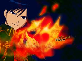 Let's Go. FIRE by LunaInverseElric