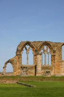 Whitby Abbey Ruins 3 by FoxStox