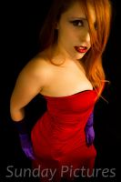 Jessica Rabbit by xredhairwonderx