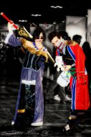 Auron and Lulu: ready to fight? by LadyDaniela89