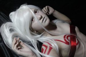 Original cosplay Shiro -Deadman Wonderland- by Pangashka