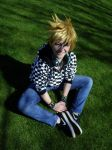 Casual!Roxas- Blue Eyed Smile by DreamsOverRealityCos
