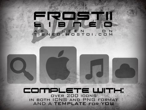 Frost II [BLACK] Icons by Tibneo by Tibneo