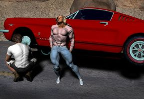 Married to Muscle 6_Road Assistance by rainbowscriber