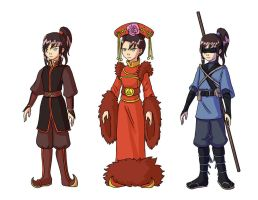 Nightingale in ATLA by Yamino