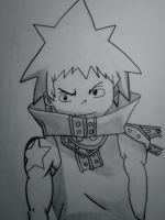 Black Star Soul Eater by cpatra09