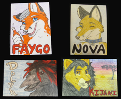 Conbadge - Collection 2 by Eluned