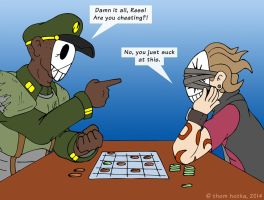 Nextuusian Checkers by NyQuilDreamer