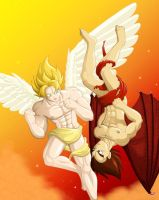 Saiyan Angels repost by nekoni