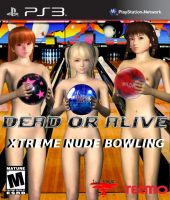 Dead or Alive Xtreme Nude Bowling Cover by darknessofanubis