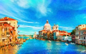 The Shores of Venice by Lance-Daniel-Smith
