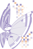 vivillon glitch pattern by MBLOCK