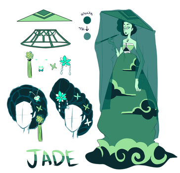 Jade's Accessories by ChobiLuck