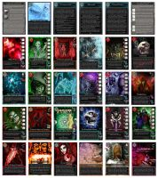 Maelorum Trading Cards (complete deck) by wfincher