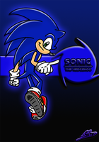 Sonic for 'SA:Remix' by Nomad-The-Hedgehog