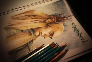 Thranduil King of Mirkwood by Gutter1333