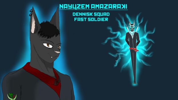 Nayuzem the Bolt Soldier by Hanilucas