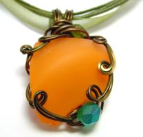 Shadowsea Pendant no. 15 by sojourncuriosities