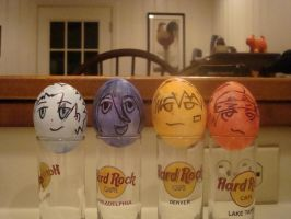 Easter Eggs 2010- Bleach Group by Fuzzdufuz