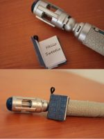 May Contain Spoilers - Tardis / River Song Journal by ArtOverChaos