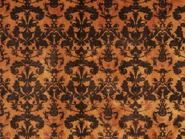 Halloween Damask by R2krw9