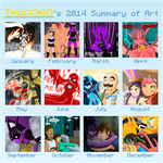 Art Summary 2014 by Inudono19