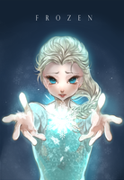 FROZEN - ELSA by NoahXica