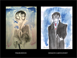 Barnabas Comparative by DemonCartoonist
