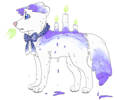 Candle Canine Adopt :Moonlight Auction CLOSED by SquidPup