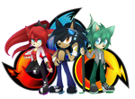 Team Inifiny Has Assemble by DragonWarrior25