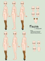 Fauna - Base by L-i-NKedxART