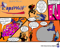 Papawolf comic 14 by NightCrestComics